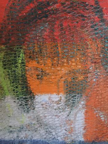 The Contessa artwork by Hunt Slonem