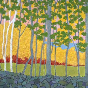 maine landscape, art for sale online by Mary Lonergan