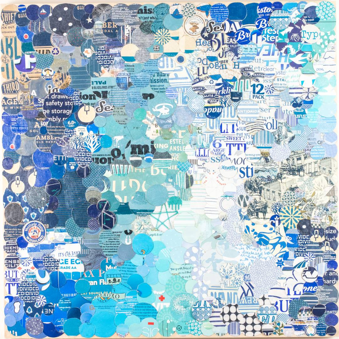 Gathering Intention 1 artwork by Erica Rossetto - art listed for sale on Artplode