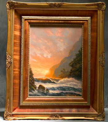 Golden Splendor, art for sale online by Roy Gonzalez Tabora