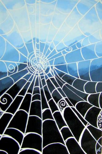 Web With A View, art for sale online by Stefanie Schultz