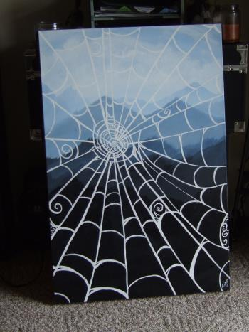 Web With A View artwork by Stefanie Schultz