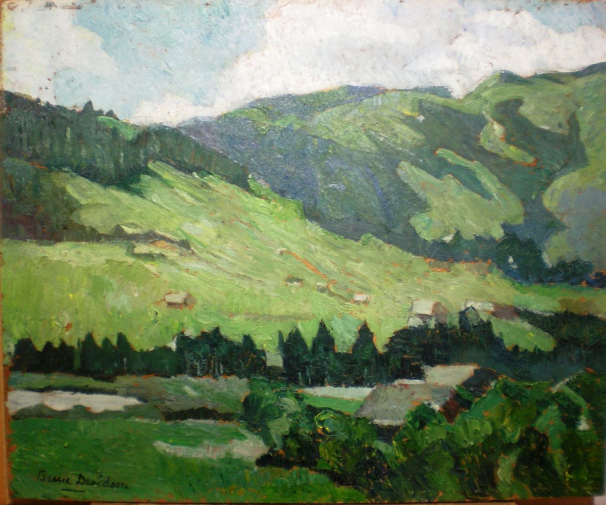 Chambery artwork by Bessie Davidson - art listed for sale on Artplode