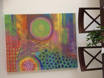 Life Ever Evolving  artwork by Ashwini Bidari