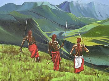Return of the Moran artwork by Harry Davis