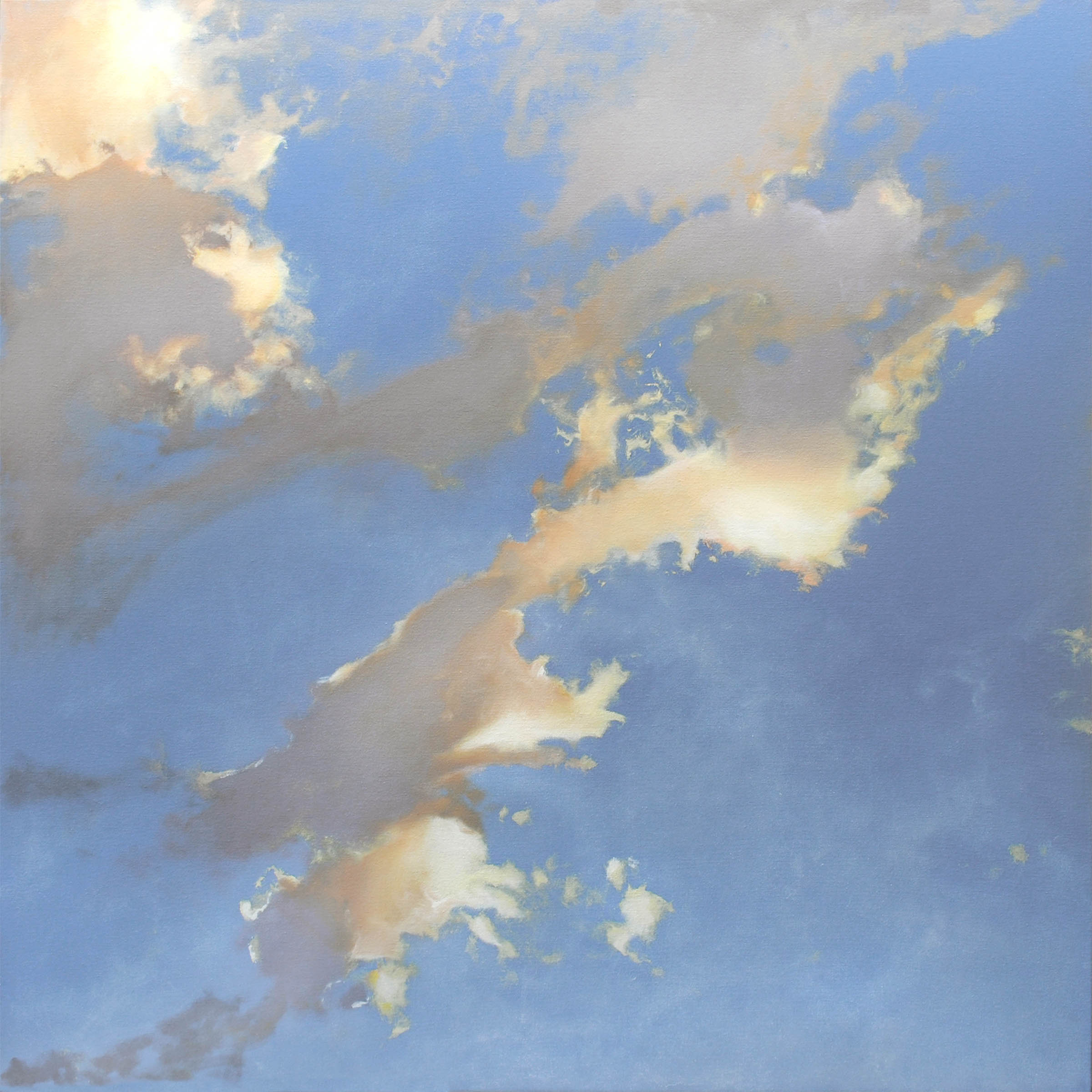 Cascade artwork by Cap Pannell - art listed for sale on Artplode