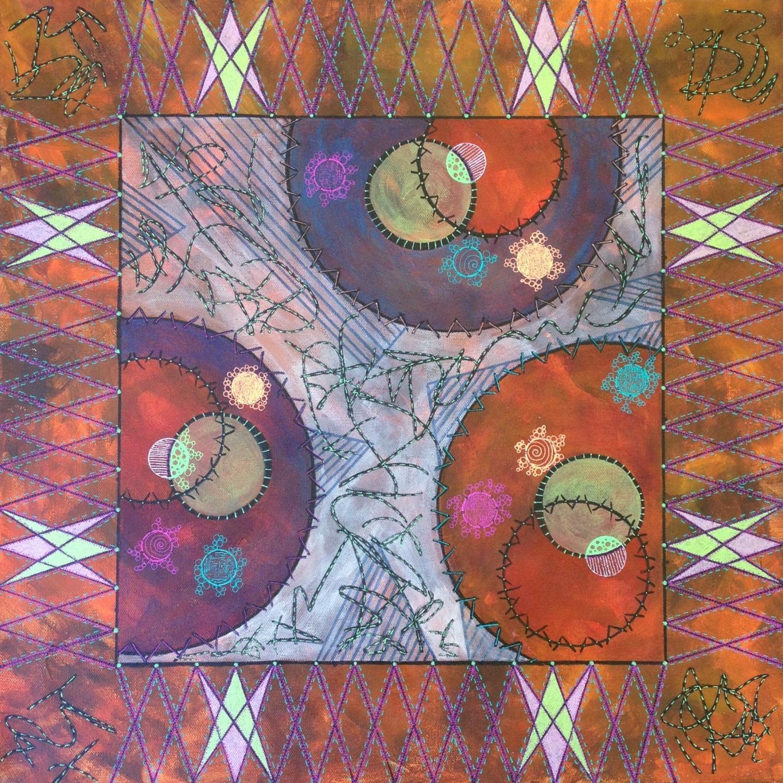 Entrapment artwork by Deborah Burdin - art listed for sale on Artplode