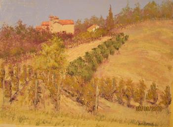 Vine E Fruit Ex Convento Francescan, art for sale online by Philip Zuchman