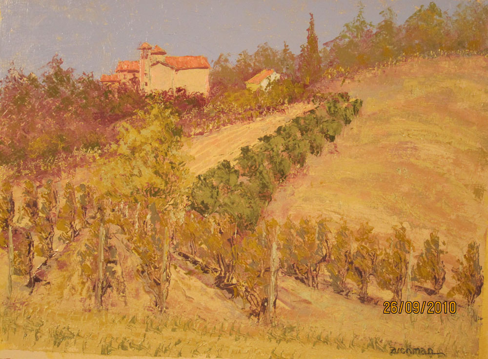Vine E Fruit Ex Convento Francescan artwork by Philip Zuchman - art listed for sale on Artplode