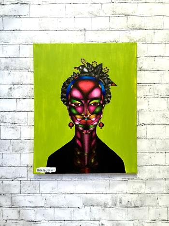 Frida, art for sale online by Sofya Pushkarskaya