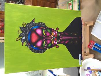 Frida artwork by Sofya Pushkarskaya