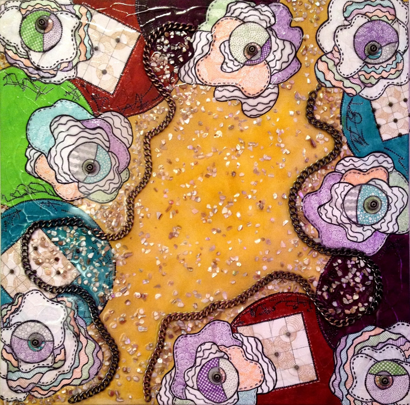 My Own Unique Path artwork by Deborah Burdin - art listed for sale on Artplode
