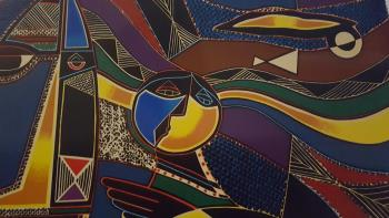 Global Village artwork by Neal Doty - art listed for sale on Artplode
