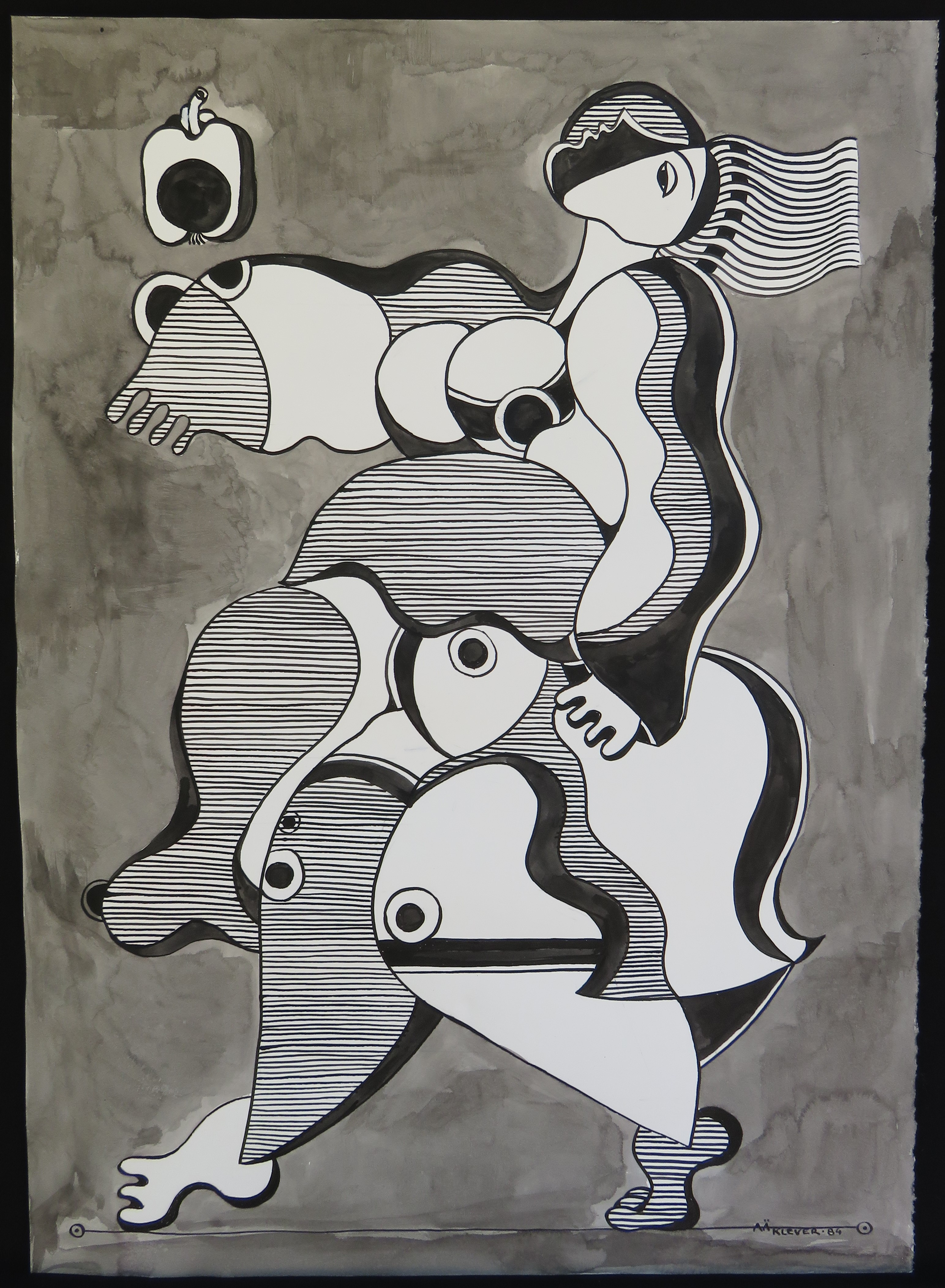 Untitled 8582 artwork by Val Klever - art listed for sale on Artplode
