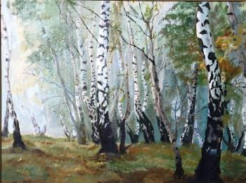 Peace Found Deep in the Forest, art for sale online by Oleg Alexeev
