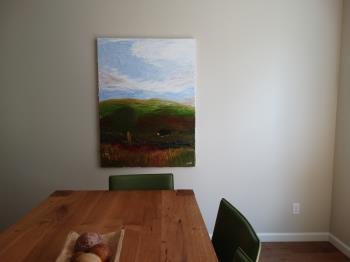 Perro Triste de Goya  artwork by Eric McCuaig - art listed for sale on Artplode