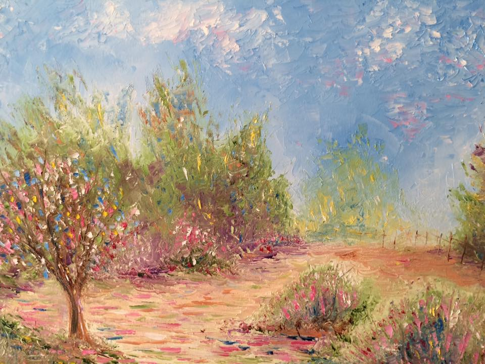 Touch of Spring artwork by Greg Gilreath - art listed for sale on Artplode