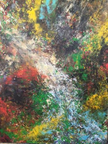 Lovers Eye, art for sale online by Richard Ting