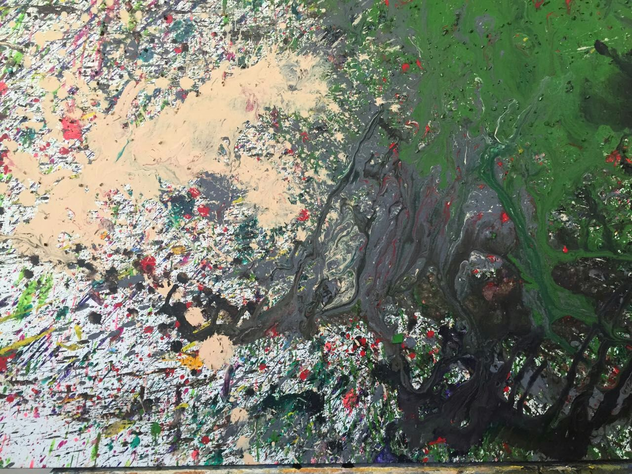 Westlake Ripple artwork by Richard Ting - art listed for sale on Artplode
