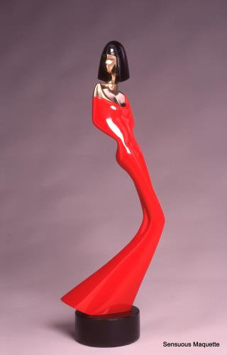 Sensuous Woman Maquette, art for sale online by David Hostetler