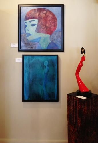 Sensuous Woman Maquette artwork by David Hostetler - art listed for sale on Artplode