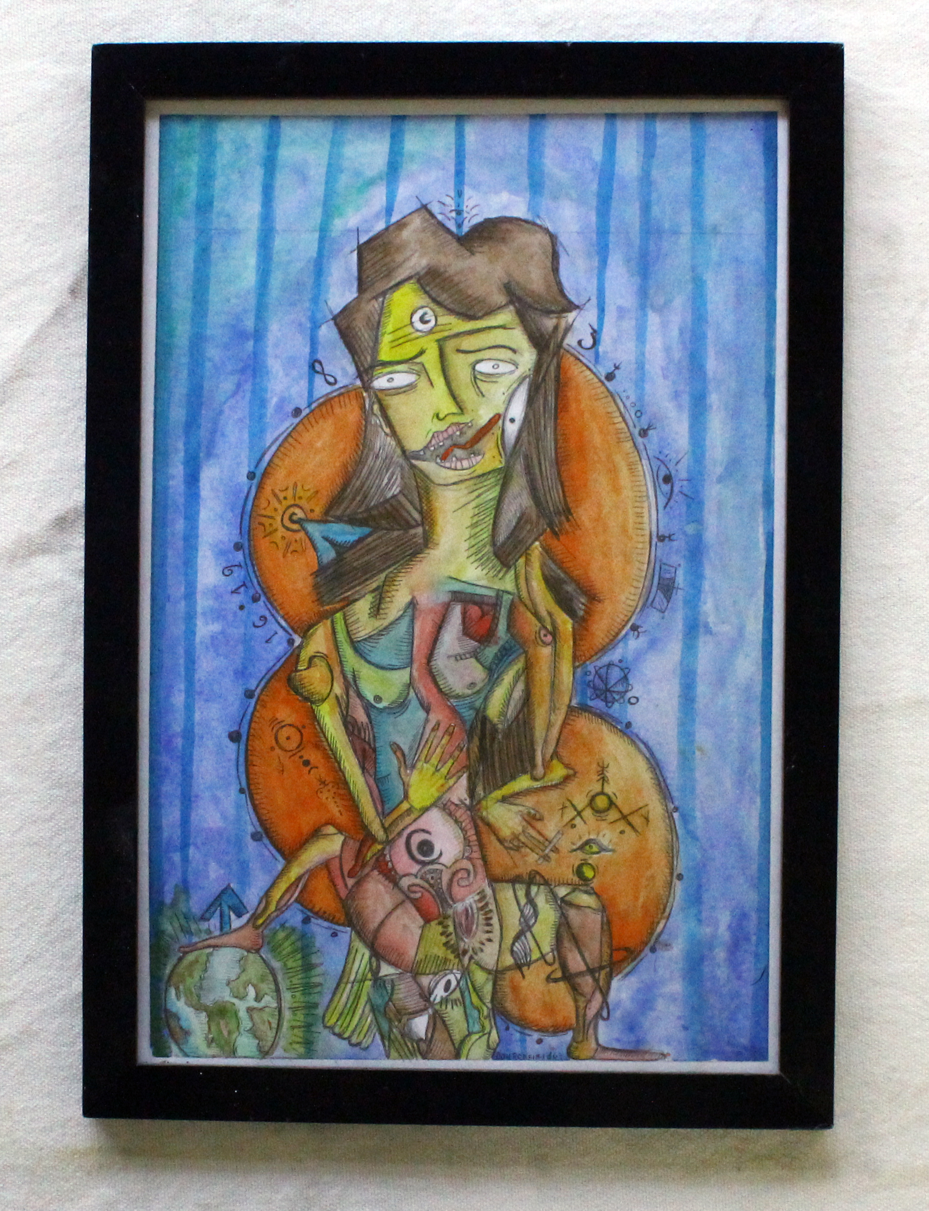 Like X to Y artwork by Diego Don Porfirio - art listed for sale on Artplode