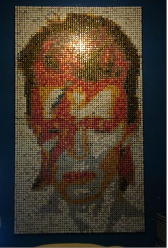 Who Loves Aladdin Sane, art for sale online by Natalie Fava