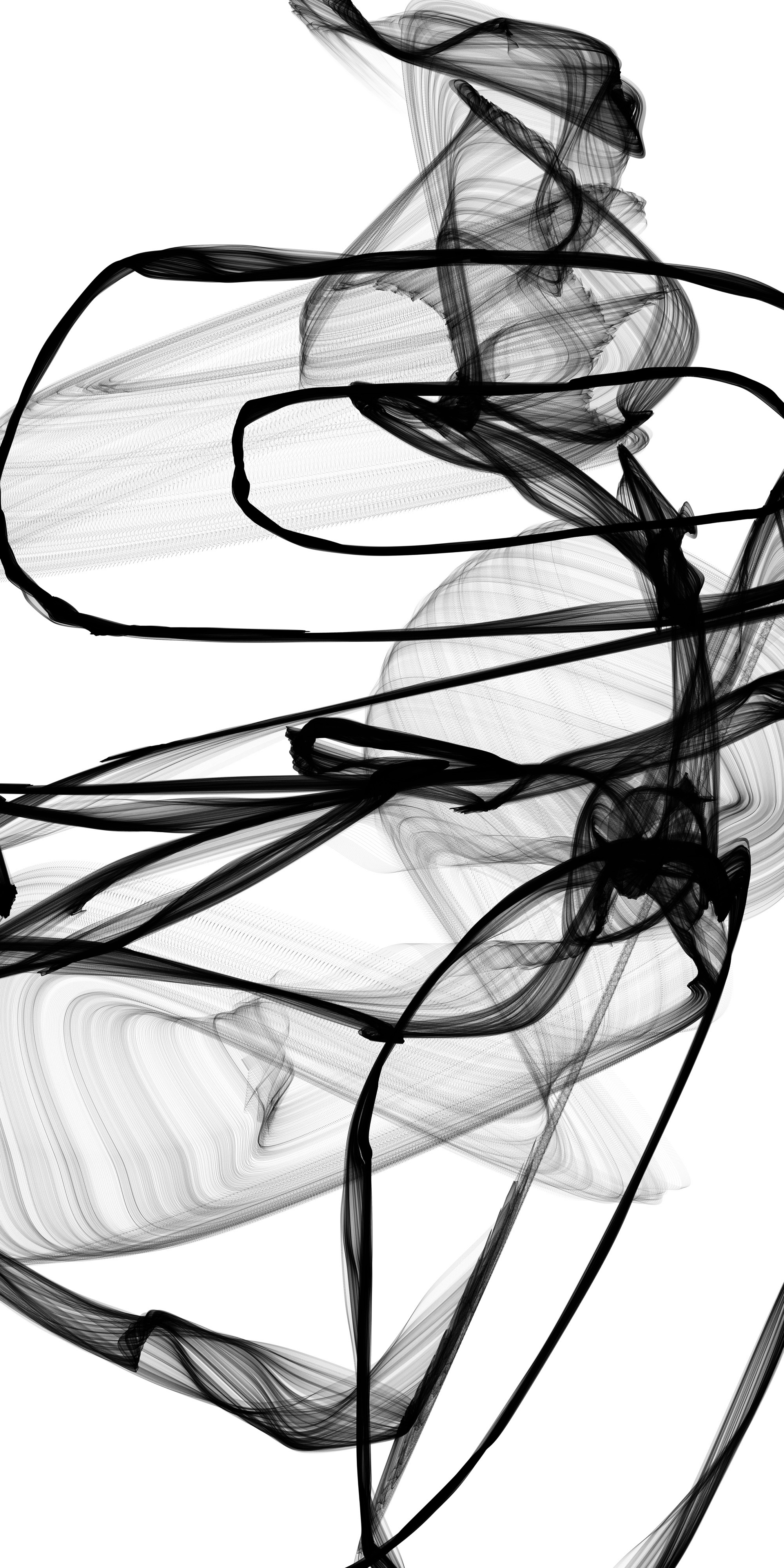 Abstract Expressionism in Black And White 17 artwork by Irena Orlov - art listed for sale on Artplode