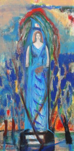 The Woman Clothed by the Sun, art for sale online by Joe McGee