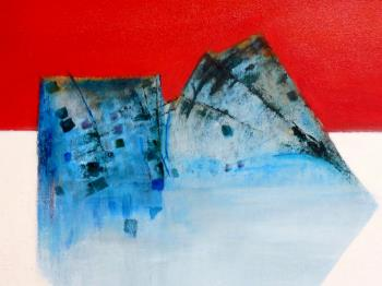 Blue Ice artwork by Robin Burnes - art listed for sale on Artplode