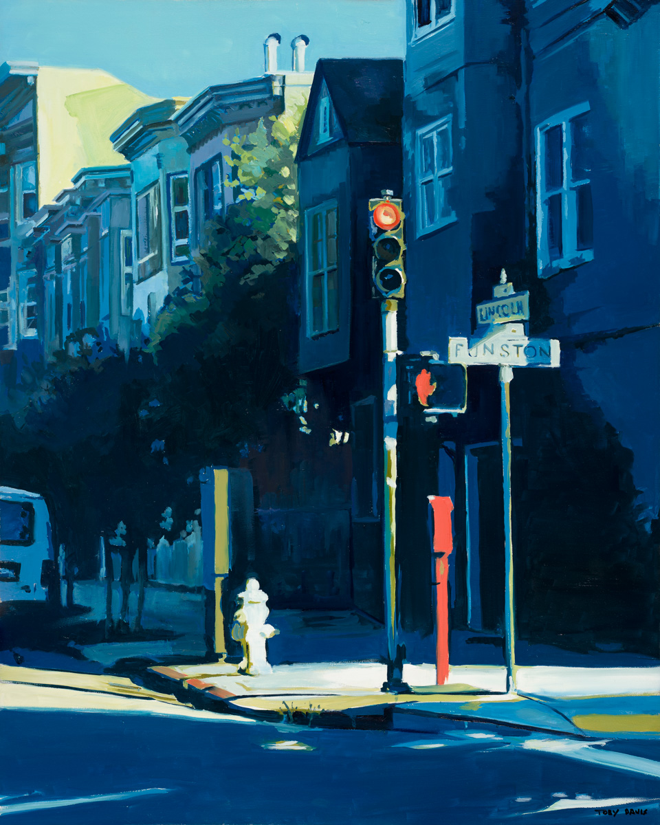 Funston and Lincoln artwork by Toby Davis - art listed for sale on Artplode