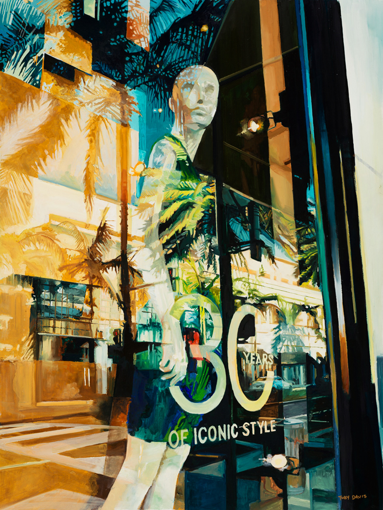 LA Style artwork by Toby Davis - art listed for sale on Artplode