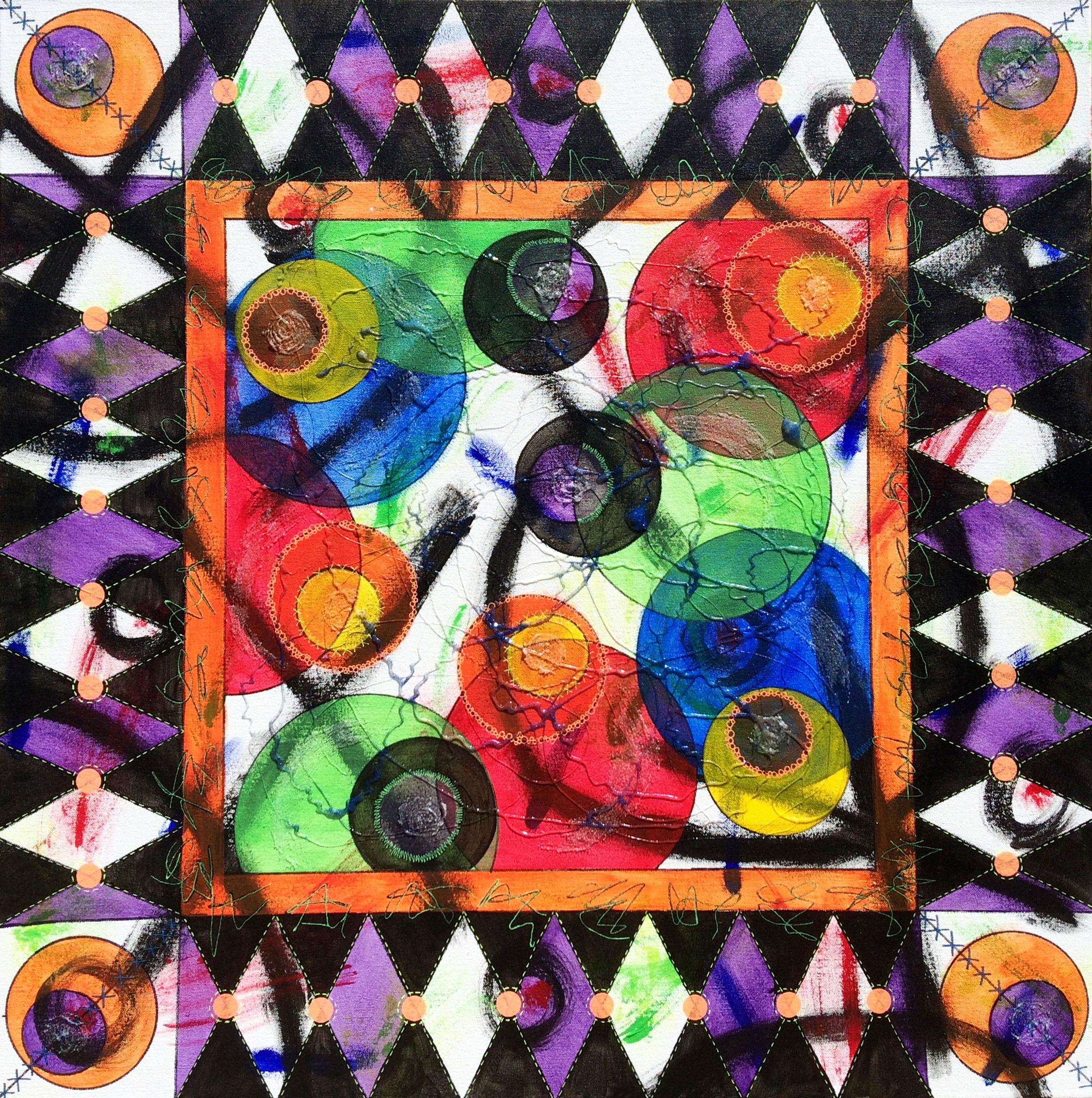Frivolity artwork by Deborah Burdin - art listed for sale on Artplode
