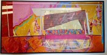 Pink Shy Retake, art for sale online by David Wright