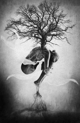 Tree of Life, art for sale online by Erik Brede