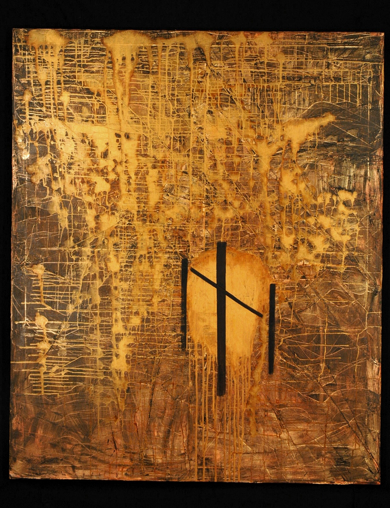 What Have we Done artwork by Carol Wagstaff - art listed for sale on Artplode