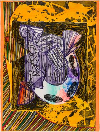 Bene Come il Sale, art for sale online by Frank Stella