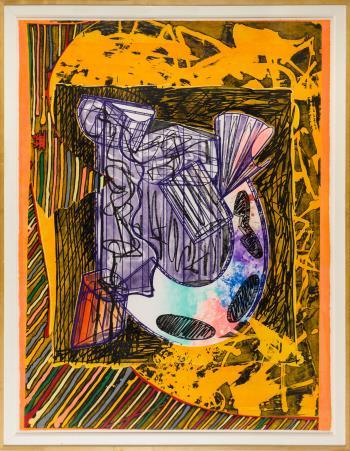 Bene Come il Sale artwork by Frank Stella