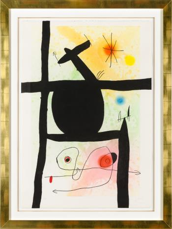 La Calebasse artwork by Joan Miro