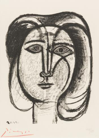 Tete de Femme, art for sale online by Pablo Picasso