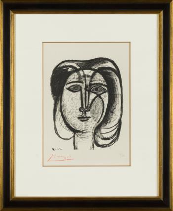 Tete de Femme artwork by Pablo Picasso