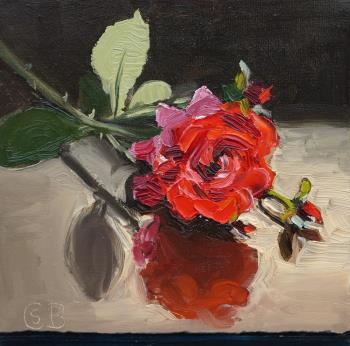 Time of roses, art for sale online by Bela Csaszar