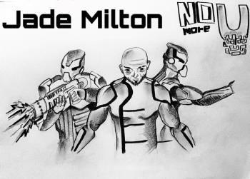NO MORE U artwork by GOKUL BEEDA - art listed for sale on Artplode