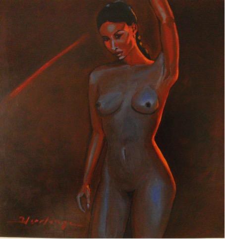 Nude artwork by Denis Hermenge - art listed for sale on Artplode