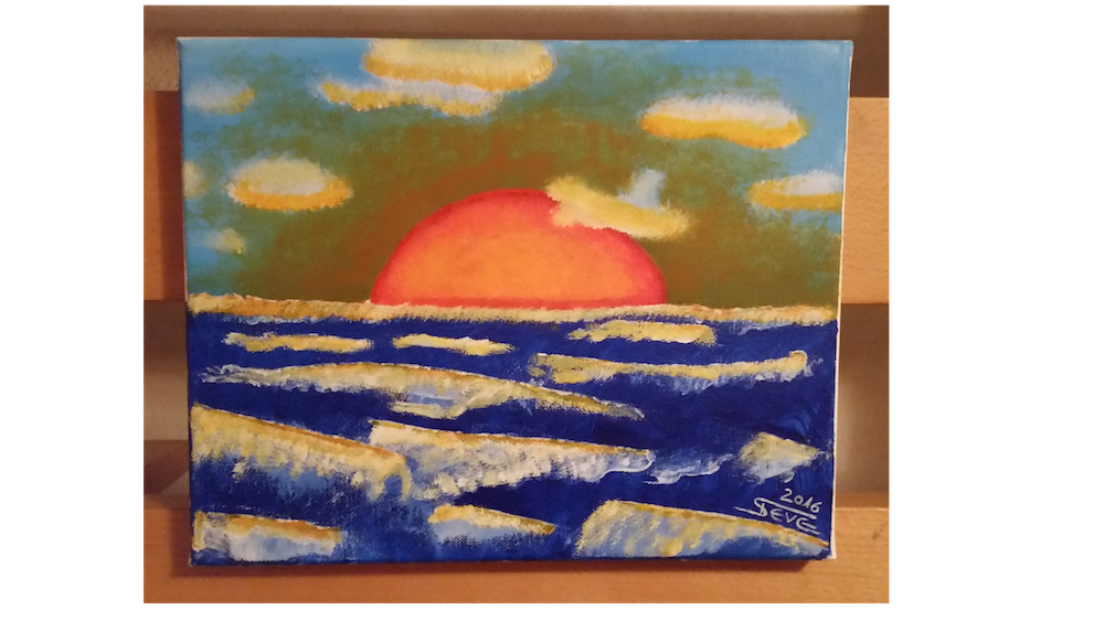 sunset  artwork by KreaSteve - art listed for sale on Artplode