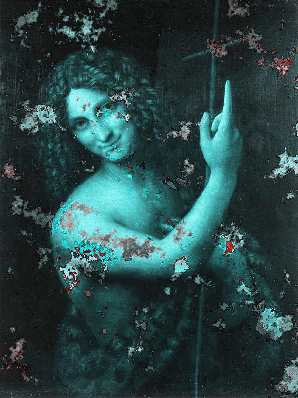 Saint John The Baptist artwork by Leonardo In Digital - art listed for sale on Artplode