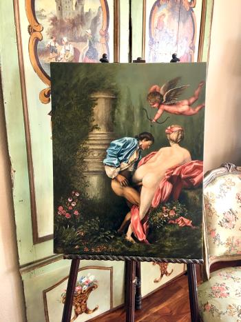 Cupids Dart artwork by JC Madame X - art listed for sale on Artplode
