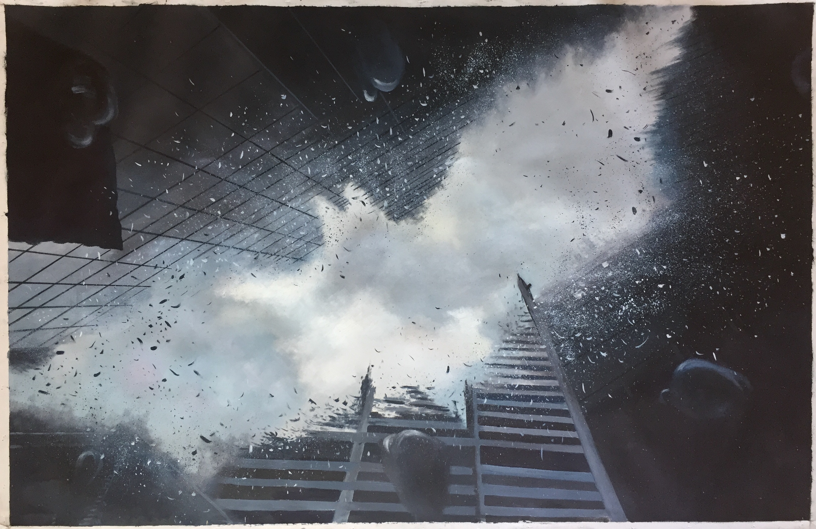 Batman The Dark Knight artwork by Benjamin Flamel - art listed for sale on Artplode