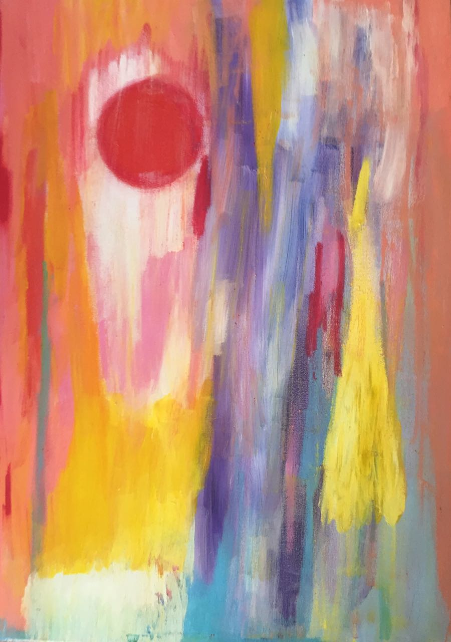 Muladhara artwork by Barbie Borges - art listed for sale on Artplode