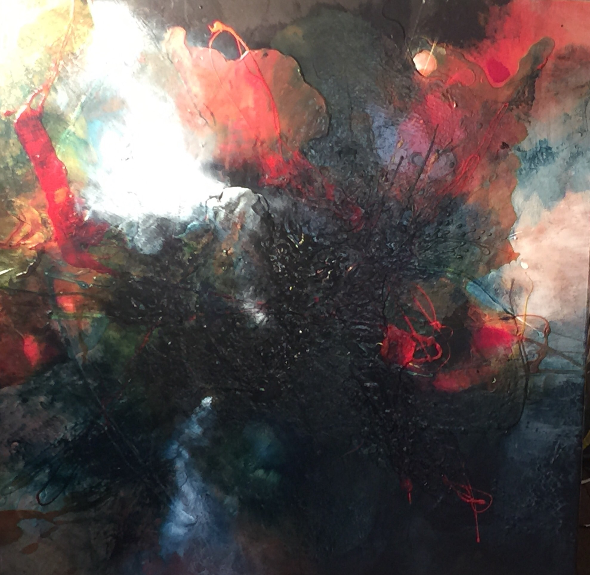 Implosion  artwork by Louise Hugo Hamman - art listed for sale on Artplode